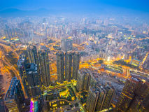 Hong Kong, China at Kowloon Stock Photography