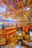 Man Mo Temple, Hong Kong, China stock photos