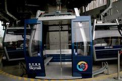 Hong Kong, China:  Ocean Park Cable Cars Stock Image