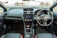 Subaru WRX STI 2017 Interior Stock Photography