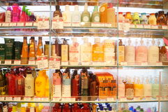 Hong Kong, China: Supermercado Imagens de Stock Royalty Free