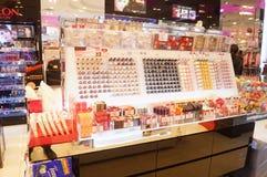 Hong Kong, China: Supermercado Foto de Stock Royalty Free