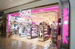 Hong Kong, China: Supermercado Imagens de Stock