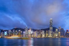 Hong Kong China Stock Photo