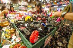 HONG KONG, CHINE - AVRIL. 21 : Le marché MAXIMAL de HONG KONG en avril Images libres de droits