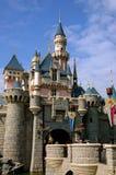 Hong Kong, Chine : Château de Disneyland Image libre de droits