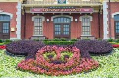 HONG KONG, CHINE - 7 février 2015 : : Hong Kong Disneyland dessus Photo stock