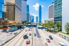 Hong Kong, Chine - 15 septembre 2018 : Beau bureau d'architecture photos stock