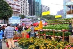 Hong Kong : Chinese New Year Market 2011 Stock Images