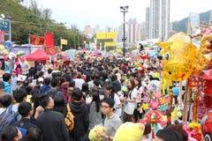 Hong Kong : Chinese New Year Market Royalty Free Stock Photos