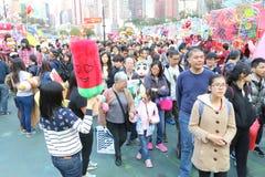 Hong Kong : Chinese New Year Market 2015 Stock Photography