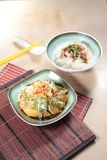 Chinese style steamed chicken cuisine royalty free stock image
