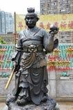 Hong Kong Chiny, Czerwiec, - 25, 2014: Chińska zodiaka brązu małpa S Obrazy Royalty Free