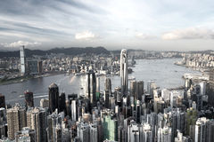 Hong Kong city Stock Photo