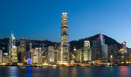 Hong Kong City Royalty Free Stock Images