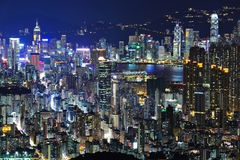 Hong kong city royalty free stock photo