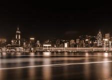 Hong Kong City 2014 Images libres de droits