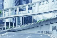 Hong Kong city Central street at Western District, road square. royalty free stock images