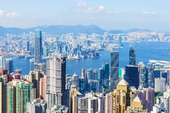 Hong Kong city Stock Photos