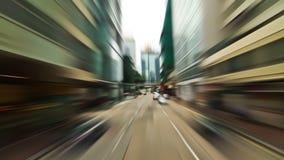 Hong Kong City Driving stock video