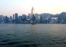 Hong Kong City en el d3ia imagen de archivo
