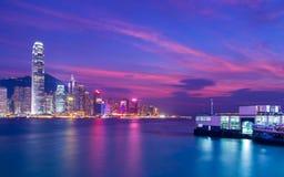 Hong Kong City Landscape Photographie stock libre de droits