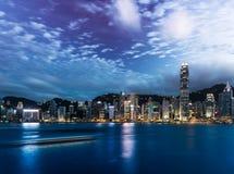 Hong Kong City Landscape Photos stock