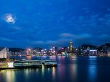 Hong Kong City Landscape Photos libres de droits