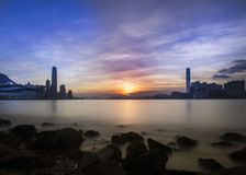 Hong Kong City Landscape Royalty Free Stock Image