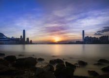 Hong Kong City Landscape Image libre de droits