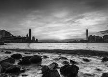 Hong Kong City Landscape Photographie stock