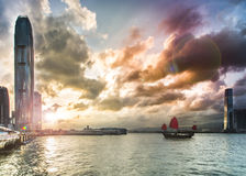 Hong Kong City Landscape Stock Images