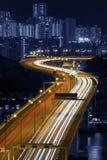 Hong Kong City Night Royalty Free Stock Photo