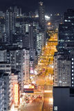 Hong Kong City Night Royalty Free Stock Image