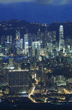 Hong Kong City Night Royalty Free Stock Photography
