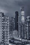 Hong Kong City Night Royalty Free Stock Images