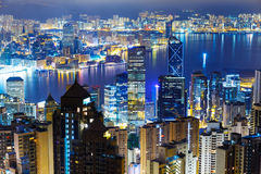 Hong Kong city Stock Image