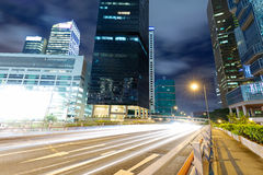Hong Kong city at night Royalty Free Stock Image