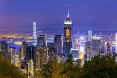 Hong Kong City Night Royalty Free Stock Image