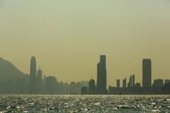 Hong Kong city panorama Stock Images