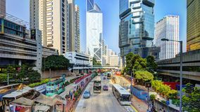 Hong Kong City Scene Stock Photo