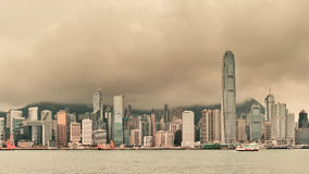 Hong Kong city skyline Royalty Free Stock Image
