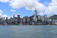 Hong Kong City Skyline by day Stock Image