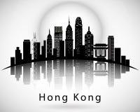 Hong Kong City Skyline Design moderno Foto de archivo