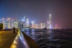 Hong Kong City Skyline Royalty Free Stock Photos