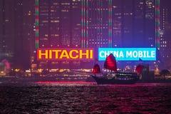 Hong Kong City Skyline Royalty Free Stock Image