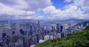 Hong Kong City Skyline 4K Stock Photography