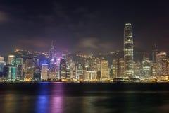 Hong Kong city skyline Stock Image