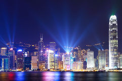 Hong Kong city skyline Royalty Free Stock Photography