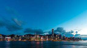 Hong Kong City and Skyscape. Hong Kong  City and Skyscape 2016 Stock Photos